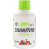 MusclePharm, Carnitine, Fat Loss Support, Fruit Punch, 1,000 mg, 15.5 fl oz (458.8 ml)