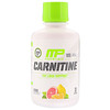 MusclePharm, Carnitine, Fat Loss Support, Citrus, 1000 mg, 16 fl oz (473 ml)