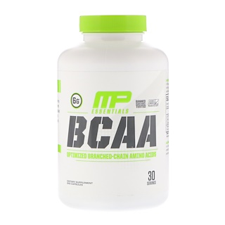 MusclePharm, Essentials, BCAA, 240 Capsules
