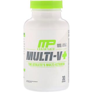 MusclePharm, Essentials, Multi-V+, Das Multi-Vitamin für Athleten, 60 Tabletten