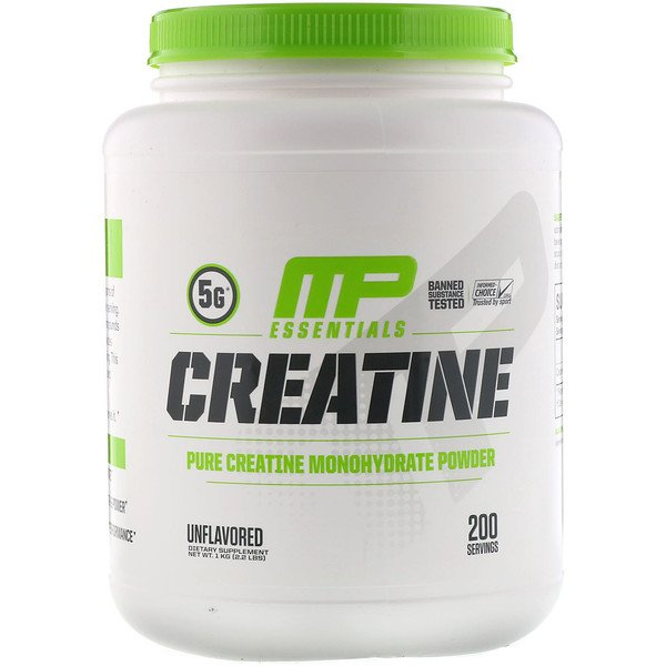 MusclePharm, Creatine Essentials, non aromatisé, 1 kg (2,2 lb)