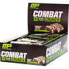 MusclePharm, Combat Crunch, chocolate coco, 12 barras, (63 g) cada una
