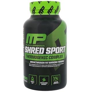 MusclePharm, Shred Sport,發熱瘦身膠囊,60粒