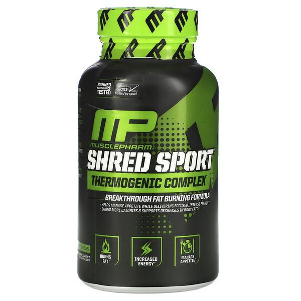 Shred Sport, Complexe thermogénique, 60 gélules