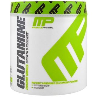 MusclePharm, Глутамин, рост и восстановление, серия Core, 0,661 фунта (300 г)