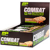MusclePharm, Combat Crunch, Twist de canela, 12 barras, 63 g cada una