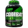 MusclePharm, Combat, 100% Casein, Chocolate Milk, 4 lbs (1814 g)