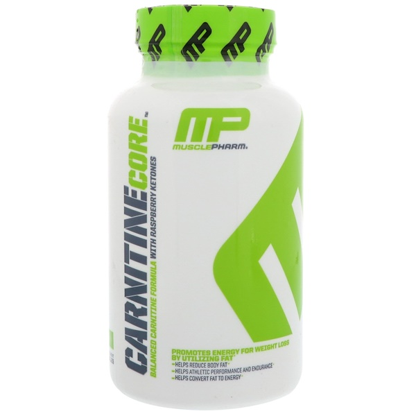 MusclePharm, Carnitine Core、60 カプセル (Discontinued Item)