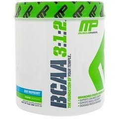 MusclePharm, BCAA 3:1:2, Blue Raspberry, 0.5 lbs (225 g)