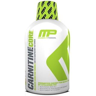 MusclePharm, Жидкий карнитин, Серия Core, цитрусовый вкус, 16 унций (473 мл)
