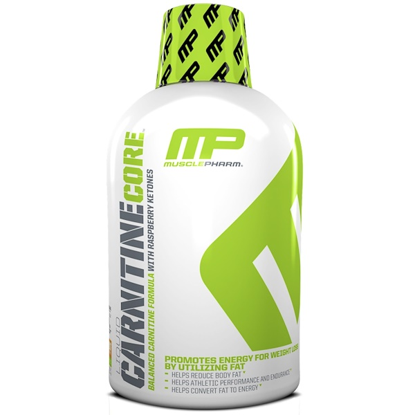 MusclePharm, Liquid Carnitine Core, Citrus, 16 oz (473 ml) (Discontinued Item)