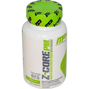 Мусклефарм, Z-Core PM, Anabolic Mineral Support Formula, with Fenugreek, 60 Capsules отзывы