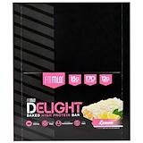 Отзывы о FitMiss, Fit Miss Delight, Baked Protein Bar, Lemon, 12 Bars Net Wt 21.2 oz (600 g)