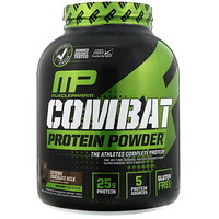 Combat Protein Powder, Extreme Chocolate Milk, 4 lbs (1814 g) - фото
