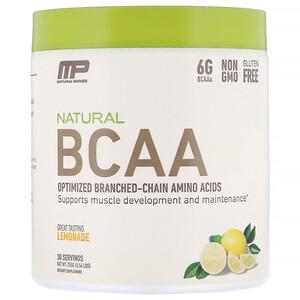 Мусклефарм, Natural BCAA, Lemonade, 0.56 lbs (255 g) отзывы покупателей