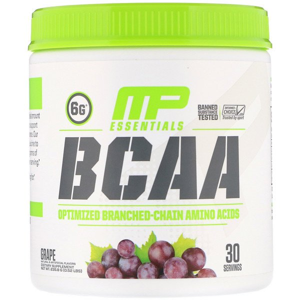 Essentials, BCAA, Grape, 0.52 lb (235.8 g)