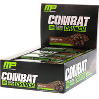 Гибридные серии, Combat Crunch, Шоколадный торт, 12 баров, 2,22 унции (63 г) Каждый - фото