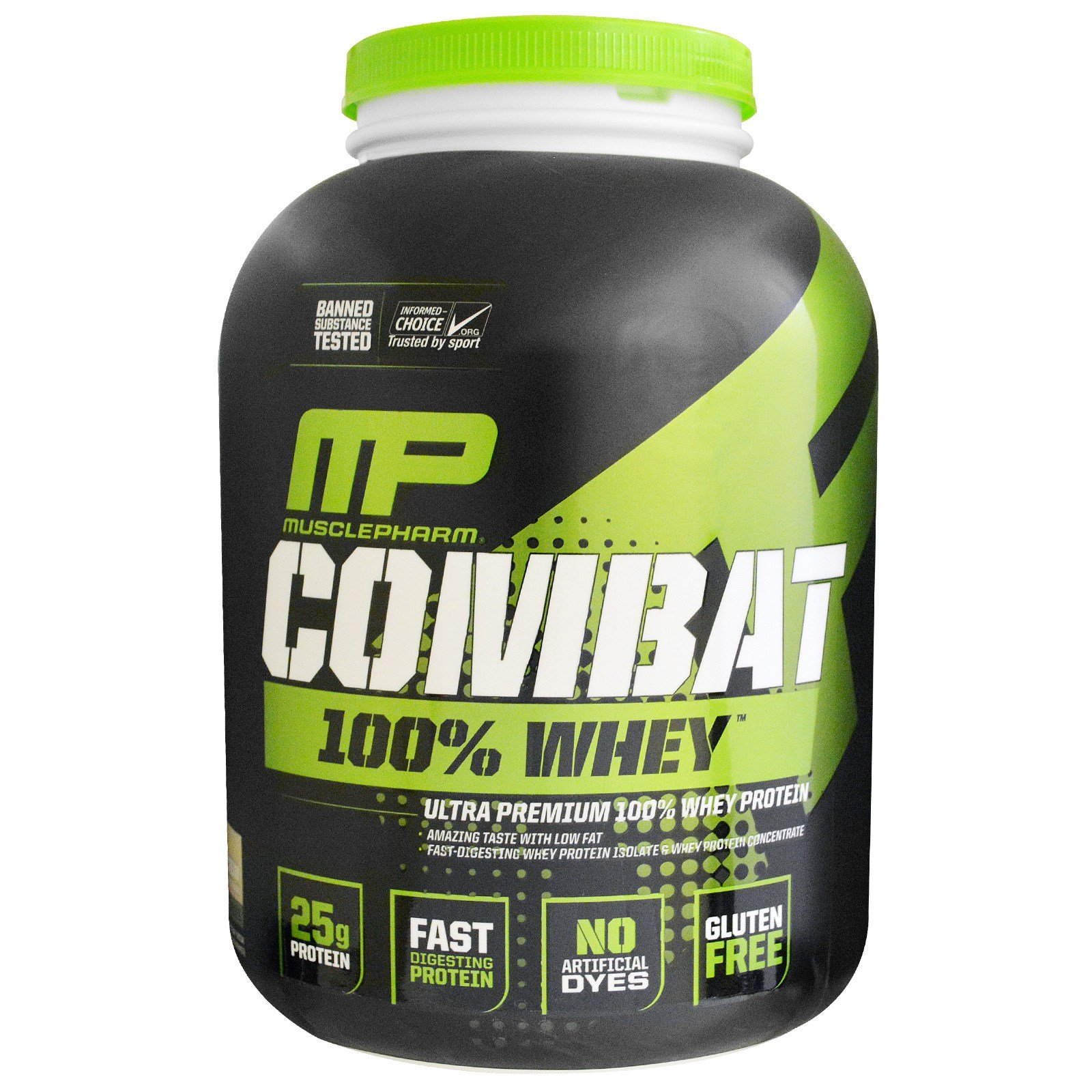 MusclePharm, Sport Series, Combat 100% Whey Protein, Cookies 'n' Cream, 5 lbs (2269 g)