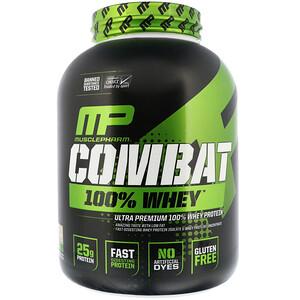 Мусклефарм, Combat 100% Whey Protein, Cookies 'n' Cream, 5 lbs (2269 g) отзывы покупателей
