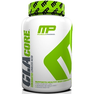 MusclePharm, CLA Core, 180 Softgels