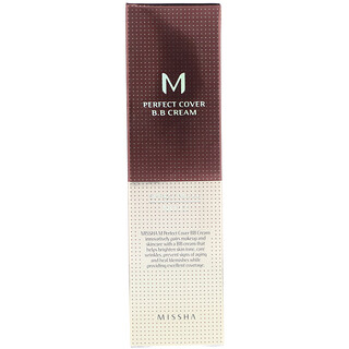 Missha, Perfect Cover B.B Cream, No. 13 Bright Beige, 50 ml