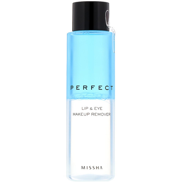Missha, Perfect Lip & Eye Makeup Remover, 155 ml