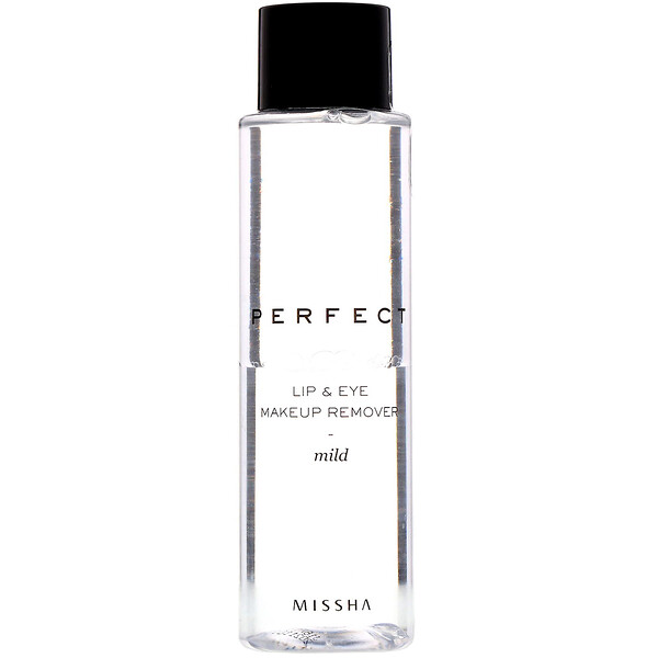 Missha, Perfect Lip & Eye Makeup Remover, Mild, 155 ml