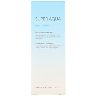 Missha, Super Aqua Peeling Gel, 3.38 fl oz (100 ml)