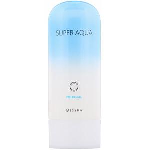 Миша, Super Aqua, Peeling Gel, 3.38 fl oz (100 ml) отзывы покупателей