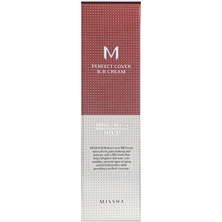 Missha, Perfect Cover BB Cream, No. 31 Golden Beige, 50 ml