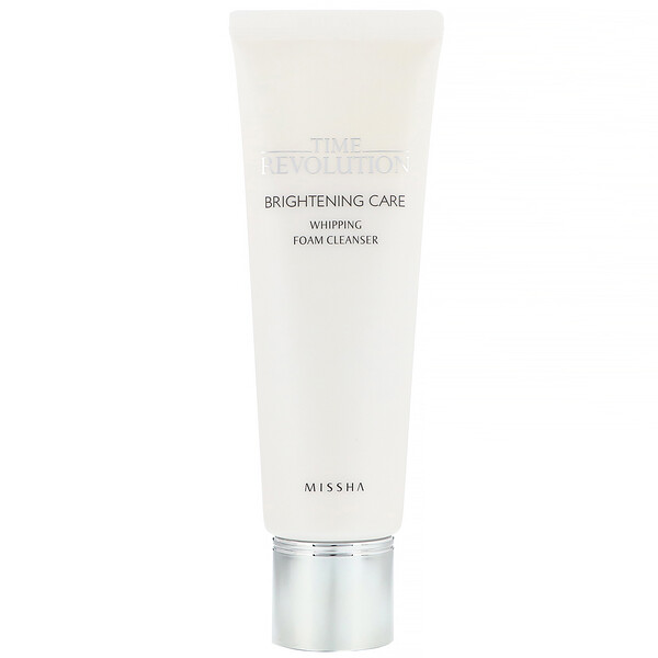 Time Revolution, Brightening Care, Whipping Foam Cleanser, 125 ml