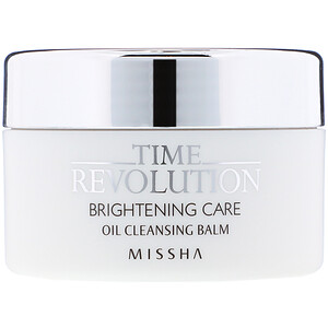 Missha, Time Revolution, Brightening Care, Oil Cleansing Balm, 105 g