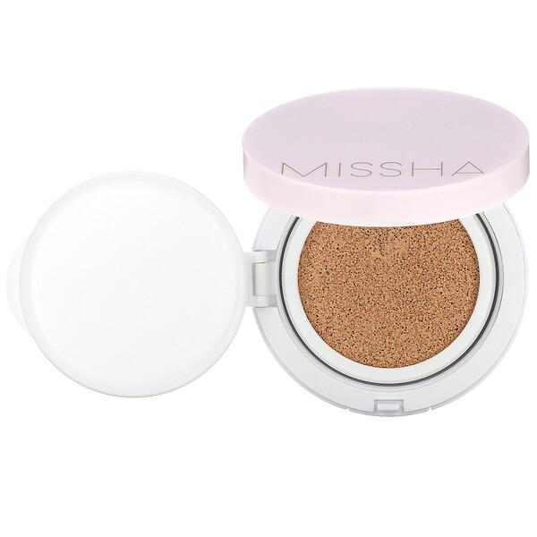 Missha, Magic Cushion Cover Lasting, No. 21 Light Beige, 0.52 oz (15 g)