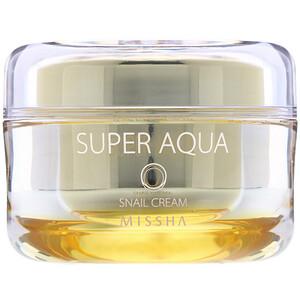 Миша, Super Aqua, Snail Cream, 47 ml отзывы