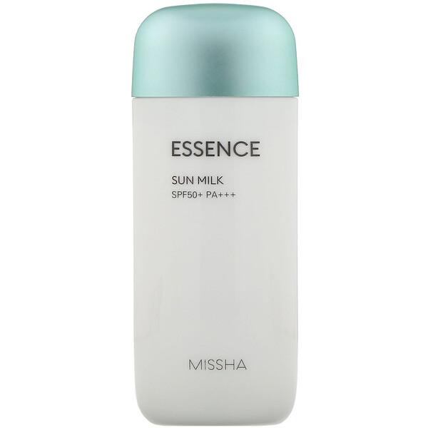 Missha, Essence Sun Milk, SPF 50+ PA+++, 2.36 fl oz (70 ml)