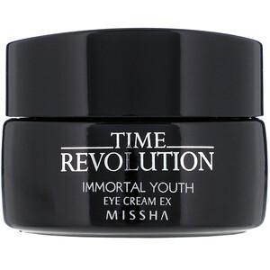 Missha, Time Revolution, Immortal Youth Eye Cream Ex, 25 ml
