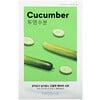Миша, Airy Fit Beauty Sheet Mask, Cucumber, 1 Sheet, 19 g