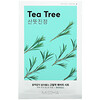 Миша, Airy Fit Beauty Sheet Mask, Tea Tree, 1 Sheet, 19 g