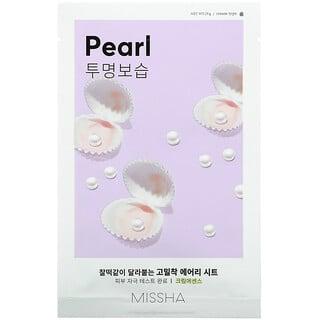 Missha, Airy Fit Sheet Mask, Pearl, 1 Sheet Mask