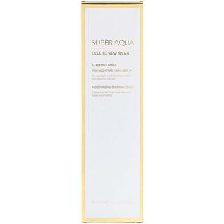 Missha, Super Aqua, Cell Renew Snail, Sleeping Mask, 3.7 fl oz (110 ml)