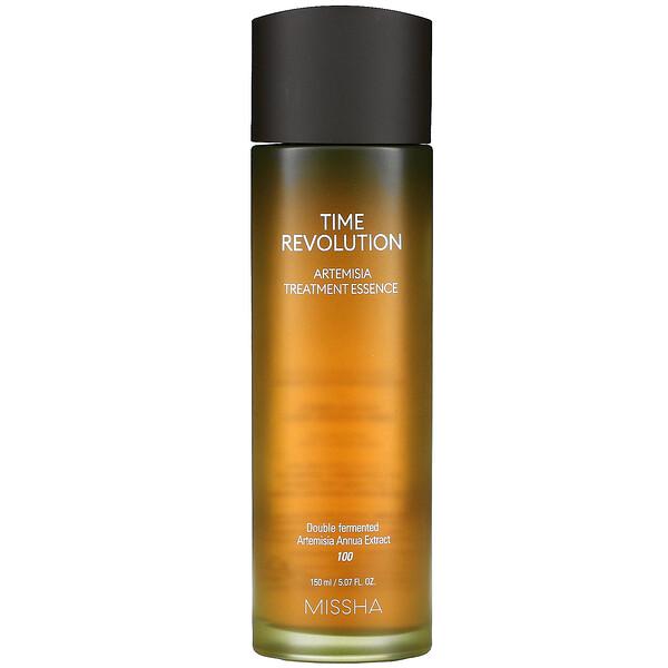 Missha, Time Revolution, Artemisia Treatment Essence, 5.07 fl oz (150 ml)