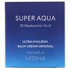 Missha, Super Aqua, Ultra Hyalron Balm Cream Original, 2.36 fl oz (70 ml)