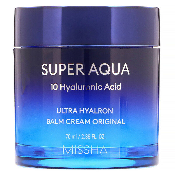 Super Aqua, Ultra Hyalron Balm Cream Original, 2.36 fl oz (70 ml)