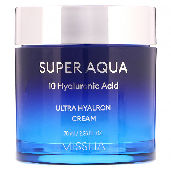 Missha, Super Aqua, Ultra Hyalron Cream, 2.36 fl oz (70 ml)