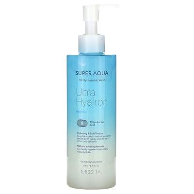 Купить Missha Super Aqua, Ultra HyaIron Mild Peel, 8.45 fl oz (250 ml)