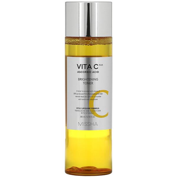 Vita C Plus Ascorbic Acid, Brightening Toner, 6.76 fl oz (200 ml)
