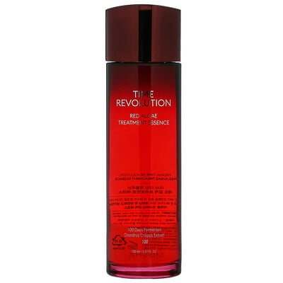 Missha Time Revolution, Red Algae Treatment Essence, 5.07 fl oz (150 ml)