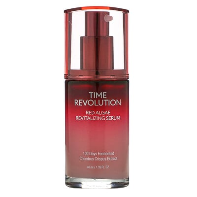 Missha Time Revolution, Red Algae Revitalizing Serum, 1.35 fl oz (40 ml)