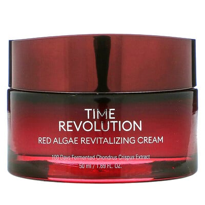 Missha Time Revolution, Red Algae Revitalizing Cream, 1.69 fl oz (50 ml)