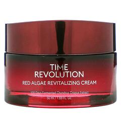 Missha, Time Revolution 系列紅藻煥顏面霜,1.69 液量盎司(50 毫升)
